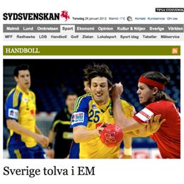 Stig Björne: Sverige 12:a i EM